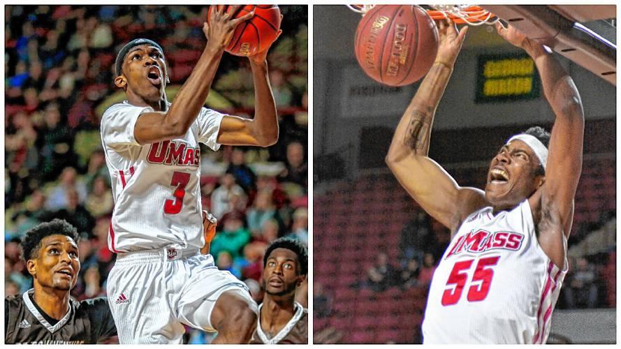 Massachusetts' freshmen Brison Gresham and DeJon Jarreau to transfer