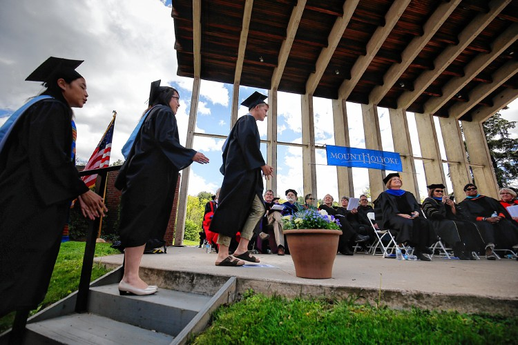 Commencement speech at mount holyoke college
