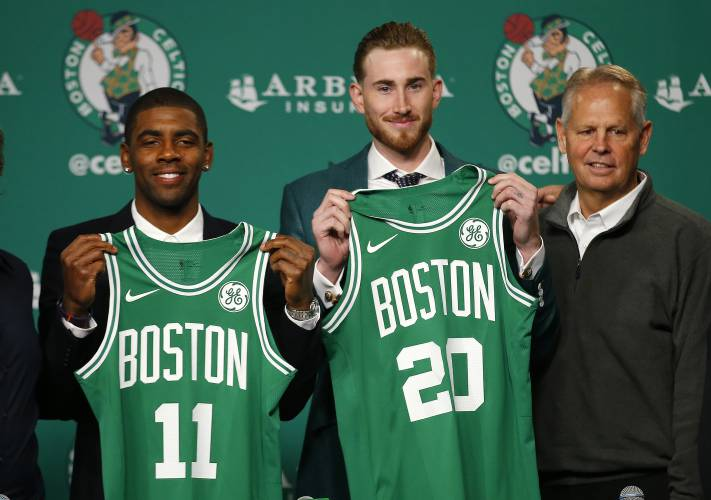 Image result for gordon hayward kyrie irving
