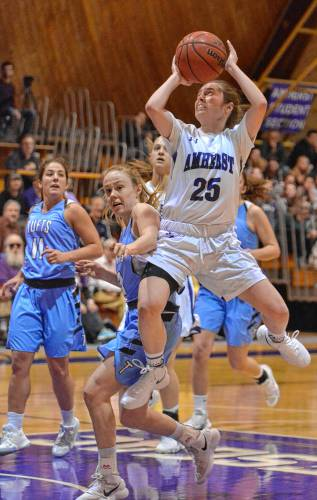 Amherst College women's basketball beats Tufts to capture ...