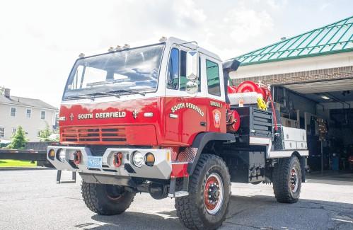 Fire Engine Food Truck