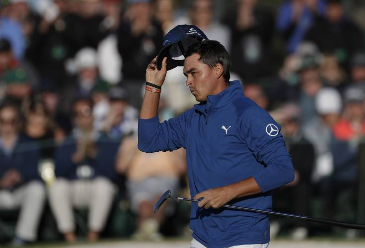 Garcia poised to put Masters cherry on top