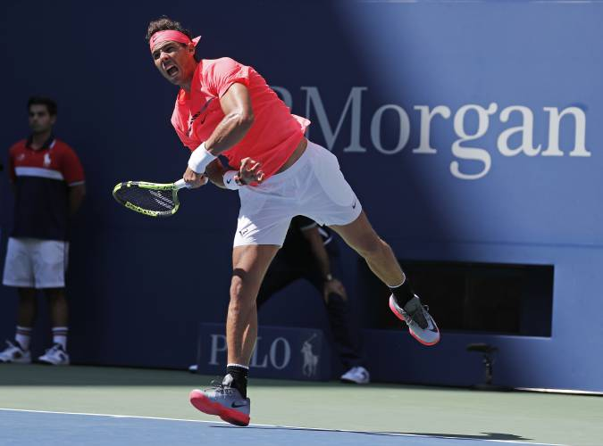 Nadal, Federer roll at US Open; del Porto rallies