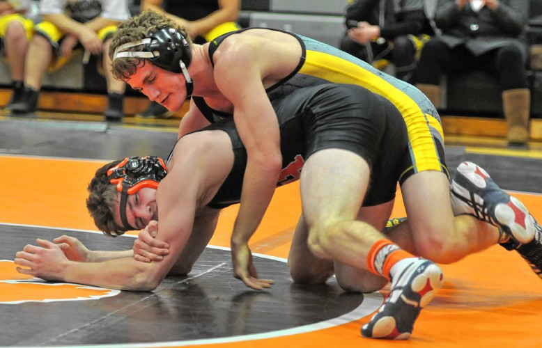 High school wrestling: Three go 3-0 for Frontier Regional ...