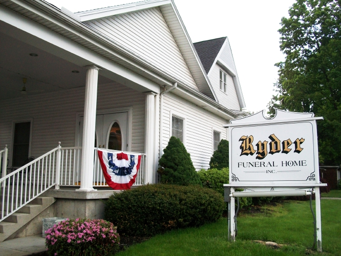 Ryder Funeral Home South Hadley
