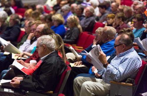 Deerfield, Sunderland having open-air Annual Town Meetings