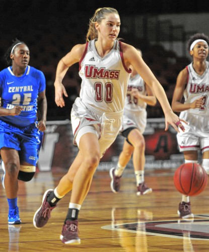 UMass women's basketball season ends in Atlantic 10 tournament