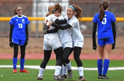 Title run over: Lenox blanks four-time champ Granby in Division 4 girls soccer final - GazetteNET
