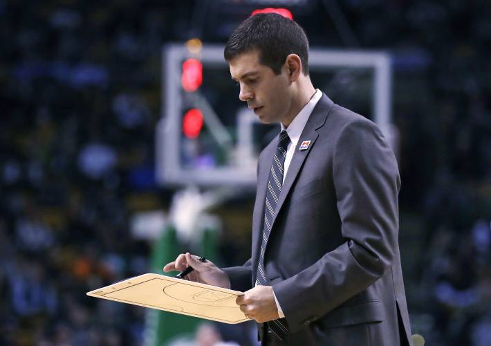 Brad Stevens was livid about foul call on Marcus Smart