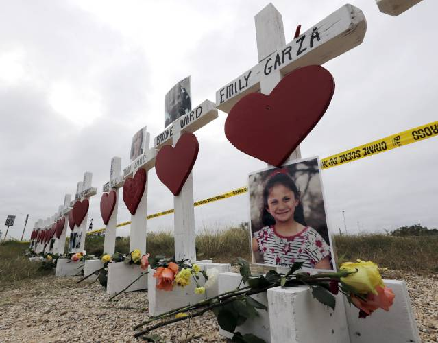 Family funeral for a third of Texas church shooting victims