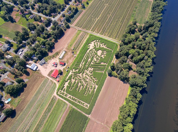 Image result for mike's maze at warner farm