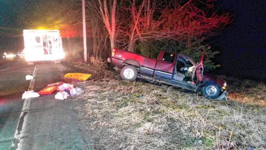 Car Accident Montague