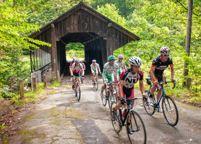 Scenery Equaled Only By Franklin County Dirt Road Ride S Challenge