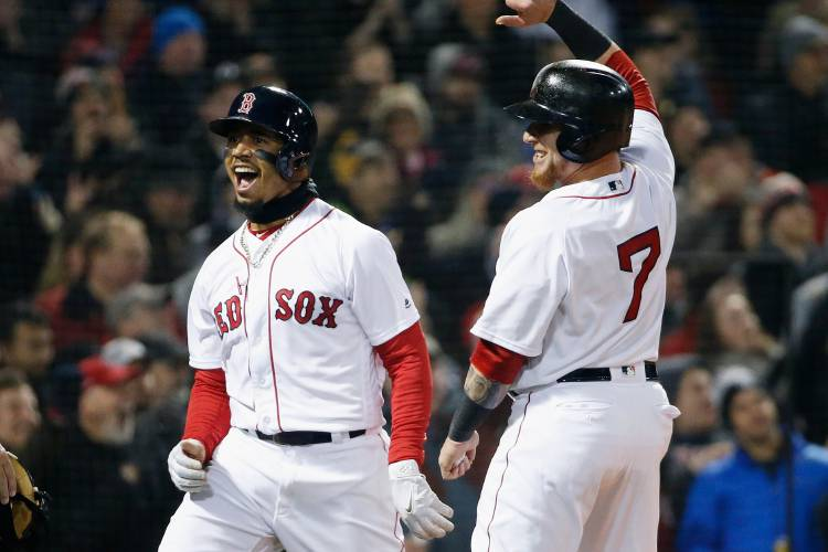 It's all going so good for the Red Sox