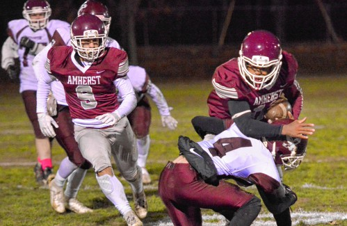 Division 5 football: Amherst ready for uncharted territory of championship game - GazetteNET