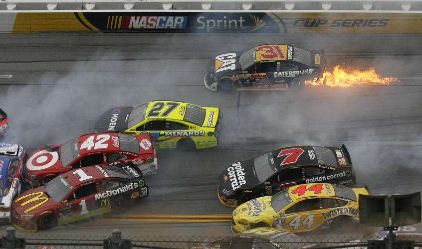 Talladega May Be Exciting, but Crashes Come at a Hefty Cost