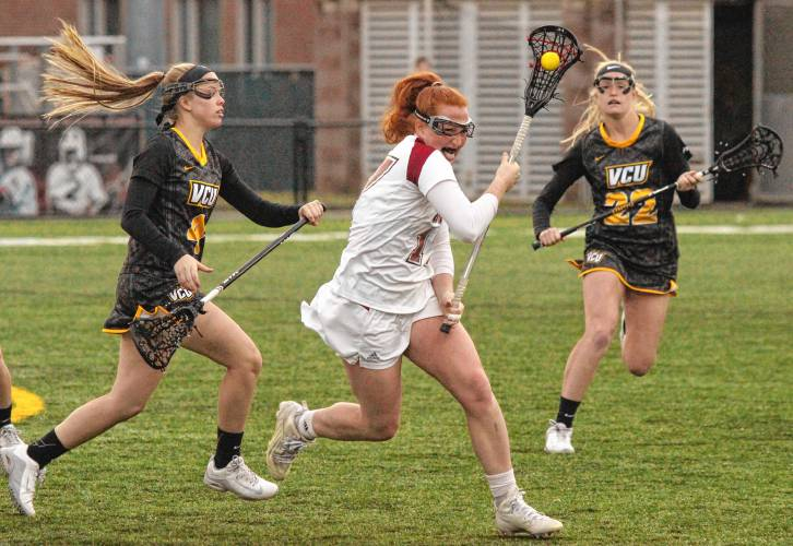 Hannah Murphy Umass Women S Lacrosse Draw In Victory Over Vcu