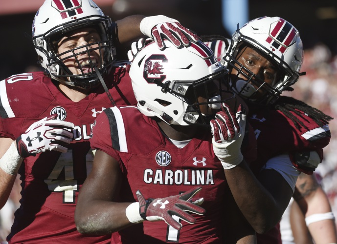 True freshman Bentley leads Gamecocks to victory over UMass