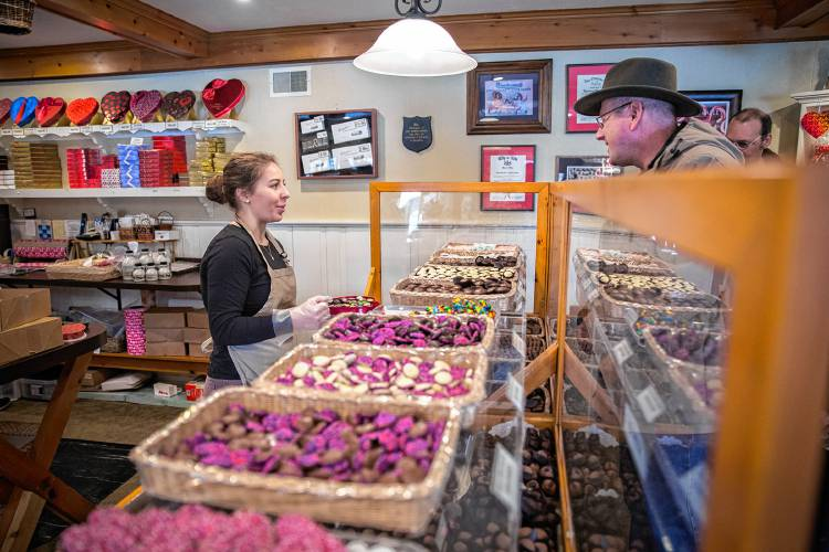 Chocolate sweetens the deal for local sweethearts