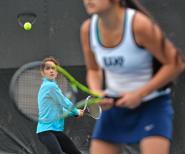 tuesday high school tennis track