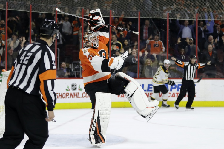 Gostisbehere, Mason lift Flyers over Bruins 3-2 in shootout