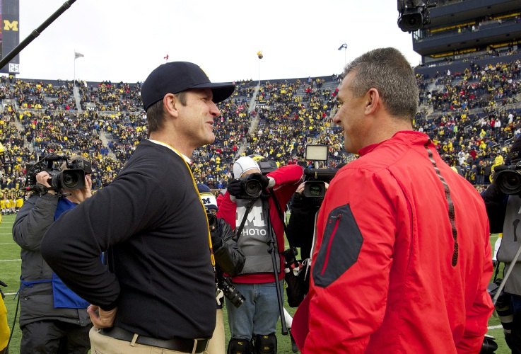 urban meyer jim harbaugh have a chance to recharge michigan ohio