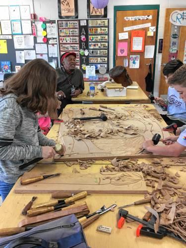 Norris School District: Creative Carvers: Popular Program At Norris School Wraps