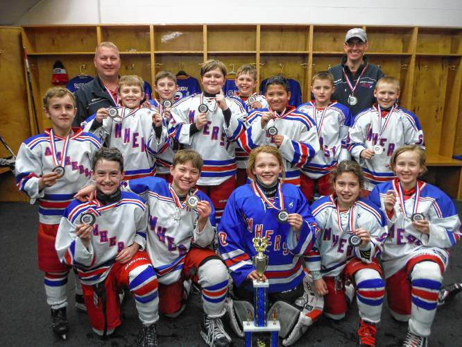 Briefs Amherst Youth Hockey Teams Win Titles At Lake Placid Tournament