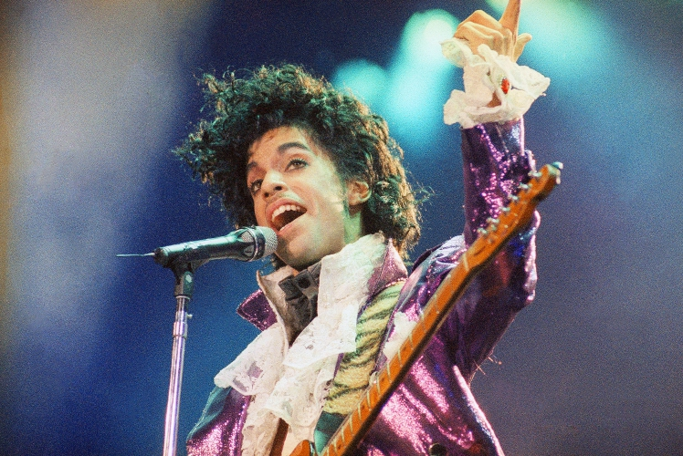 Prince performer who created own musical blueprint from many file in this feb 18 1985 file photo prince performs at the forum in inglewood calif prince widely acclaimed as one of the most inventive and malvernweather Image collections