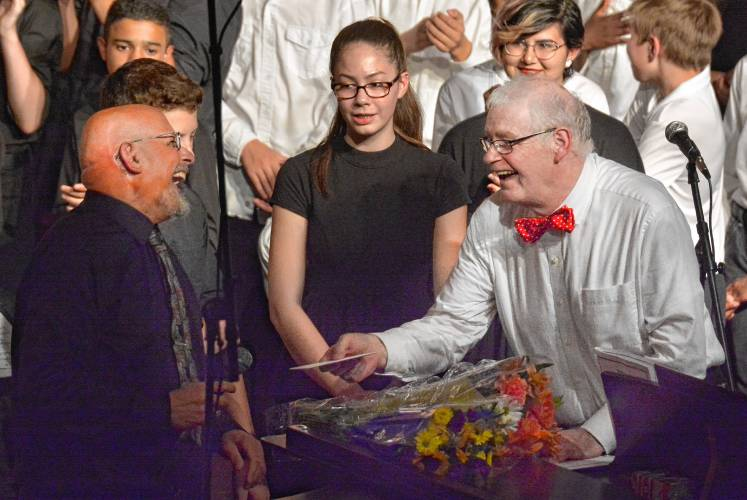 The Final Chords Amherst Sends Off Choral Director Dave Ranen In Style