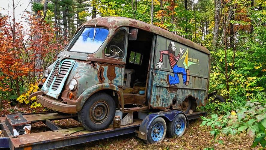 Aerosmith s  70s-era tour van found in Chesterfield woods ebf59ba53