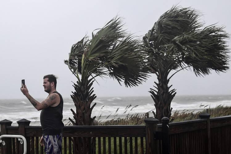 Dorian grazes Carolina coast, aims for Outer Banks
