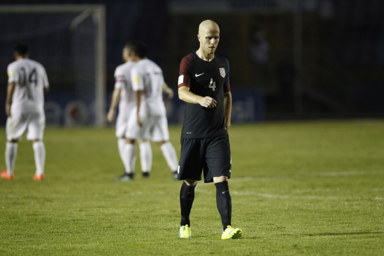 d4965b8d7 United States  Michael Bradley leaves the field after a 2018 Russia World  Cup qualifying soccer match against Guatemala at Mateo Flores Stadium in  Guatemala ...