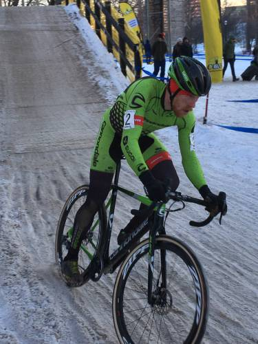 Stephen Hyde Competing For Usa Cycling Mountain Bike National