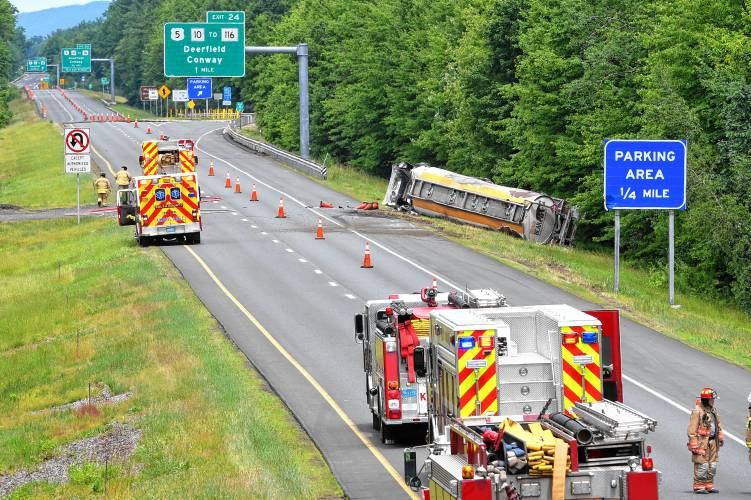 Driver dies in I-91 fuel truck rollover