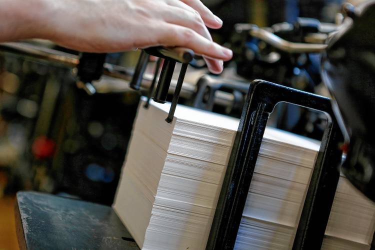Big Wheel Press keeps fading art of letterpress alive