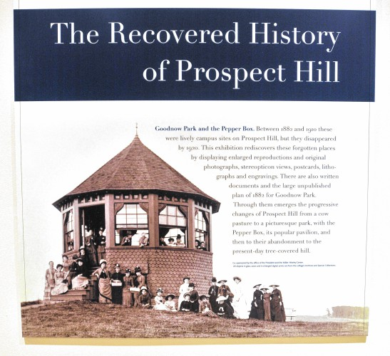 The Now Wooded Hillside At Mount Holyoke College Was Once An