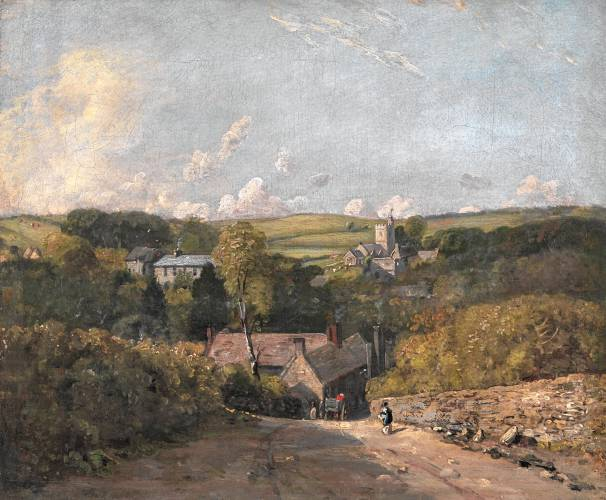 Landscapes with an English accent: Clark Art Institute