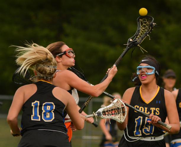 Division 2 Girls Lacrosse Chicopee Comp Pulls Away From