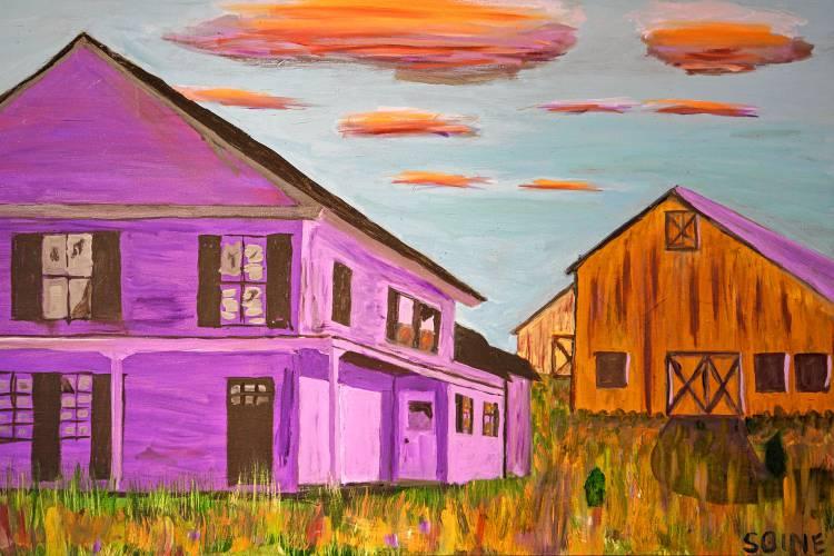 Art Maker: Larry Soine, oil painter