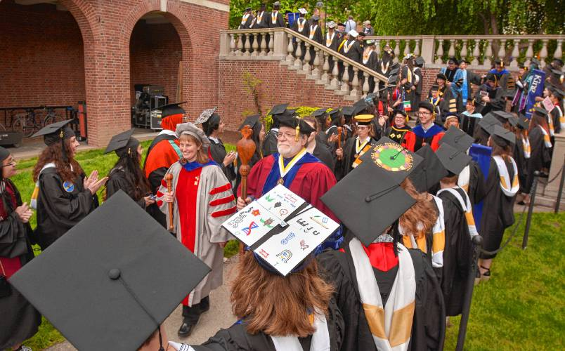 Empathy is our superpower': Smith College graduates 685