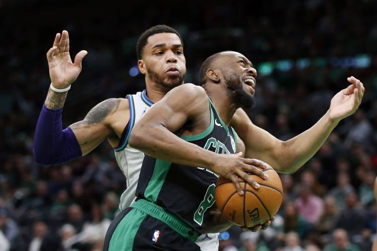 Jayson Tatums Career High Paces Celtics Vs Hornets
