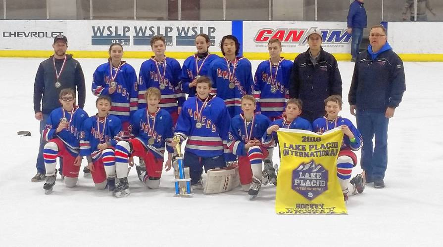Briefs: Amherst youth hockey teams win titles at Lake Placid tournament