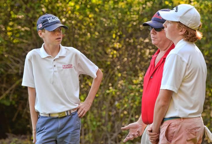 536a343cff4 Frontier golfer Mikey Corduff determined despite size