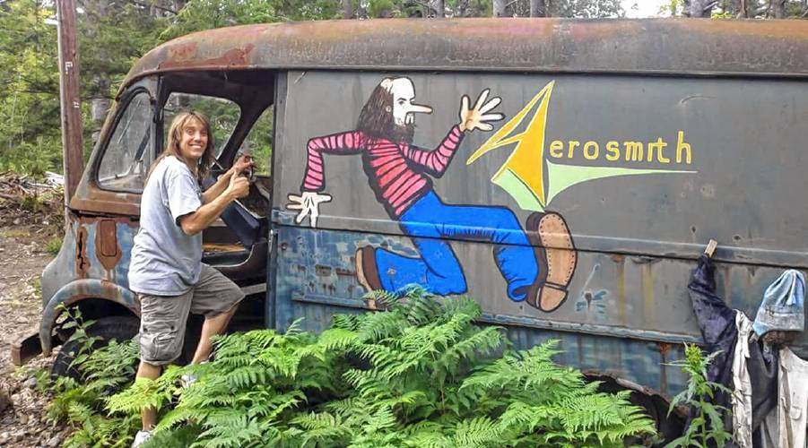Aerosmiths 70s Era Tour Van Found In Chesterfield Woods