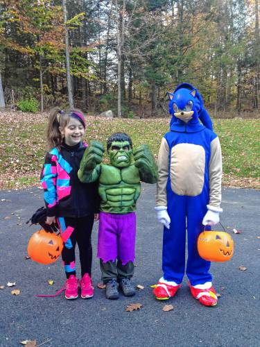Home Sewn Halloween Costumes A Tradition