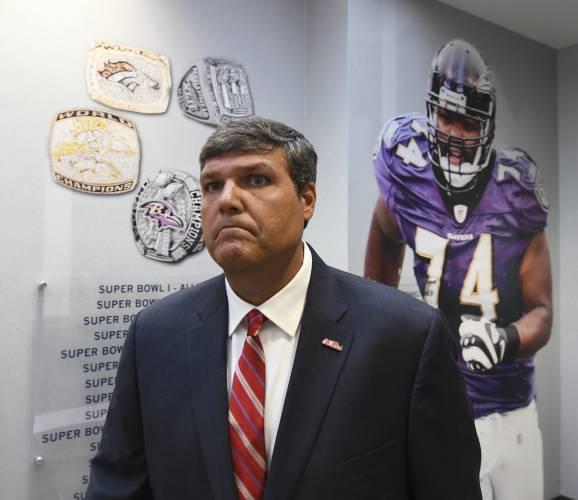 Mississippi NCAA college football interim head coach Matt Luke walks into a  press conference in Oxford 41377eb48