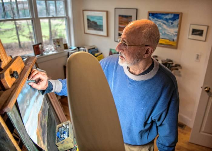 Art Maker Richard Cohen Pastel Painter