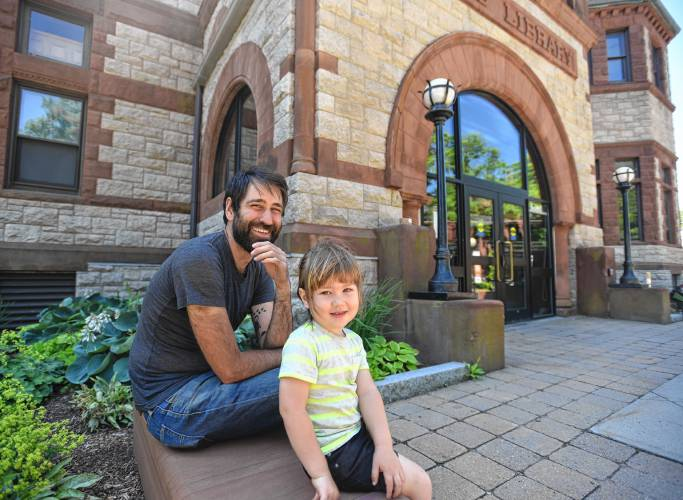 Forbes Library's new Writer in Residence took a winding path
