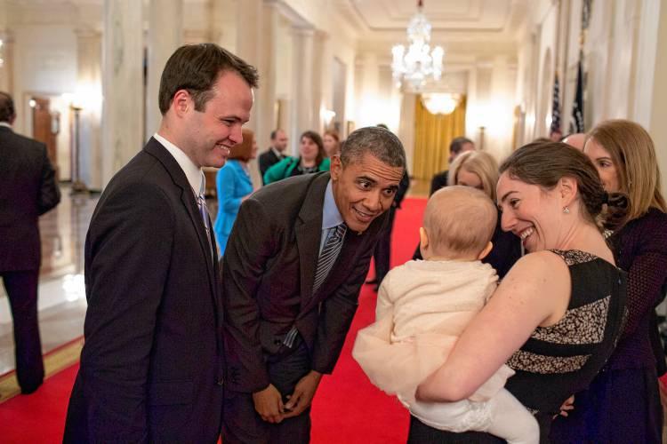 Sen  Eric Lesser: Seder with the Obamas